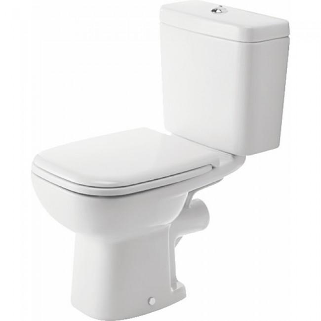 Pack wc au sol 3 en 1 - cuvette en céramique - D Code DURAVIT