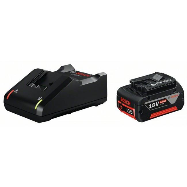 Batterie 18V 4.0Ah Li-ion + chargeur GAL 18V-40 - 1600A01B9Y BOSCH