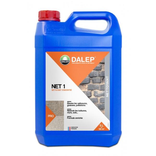 Nettoyant - détergent alcalin – algicide – surpuissant – Net 1 DALEP