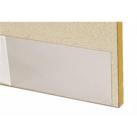Plaque de protection de porte en acier inox 8/10 BILCOCQ