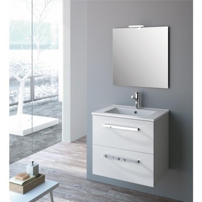 Miroir - 60 x 80 cm -  Studio Kit Comfort CYGNUS BATH