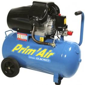 Compresseur d'air - 50 litres - 2200 W - Prim'Air MM20/50 Lacmé