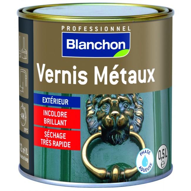 Vernis métaux - protection tous métaux extérieurs - sans odeur BLANCHON