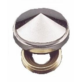 Cache-vis laiton chromé - forme diamant - 25 pièces FERRASSE
