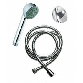 Set de douche - douchette, flexible et support chromés SIMILAIRE