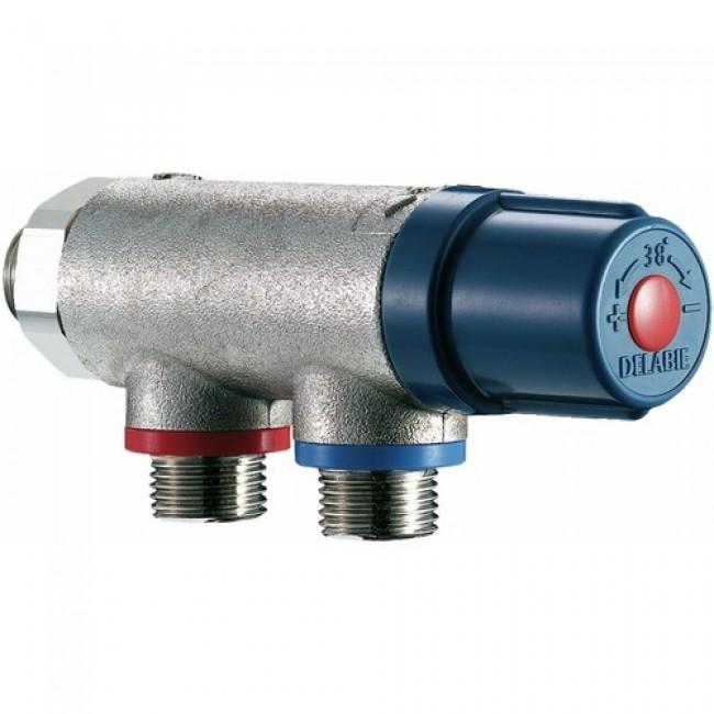 Mitigeur thermostatique Premix compact - 2 à 10 postes - M20x27 DELABIE