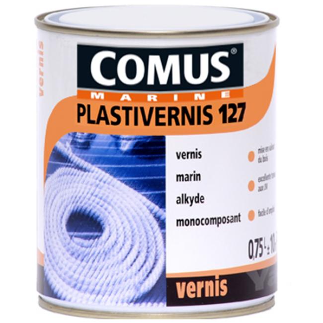 Vernis incolore - haute résistance - Plastivernis 127 COMUS