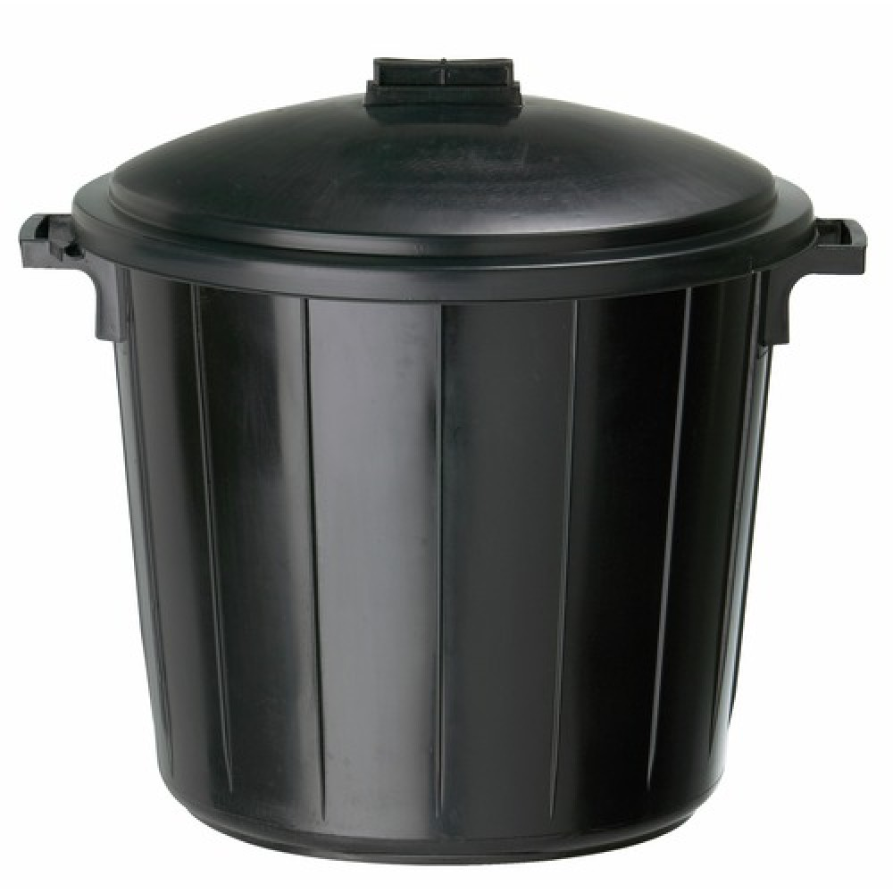 poubelle plastique avec couvercle 80 litres r glisse. Black Bedroom Furniture Sets. Home Design Ideas