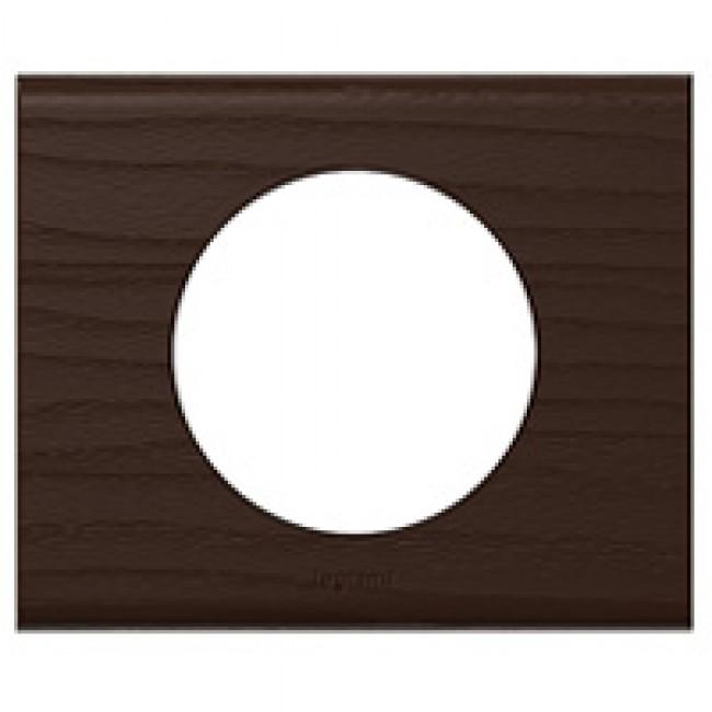 plaque c liane mati re 1 poste weng legrand bricozor. Black Bedroom Furniture Sets. Home Design Ideas