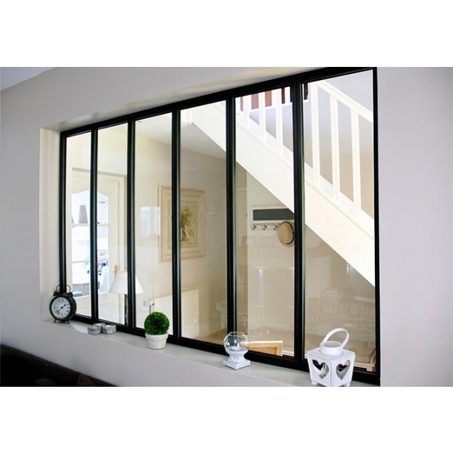 Kit verrière intérieure avec vitrage - 6 panneaux Kit Atelier