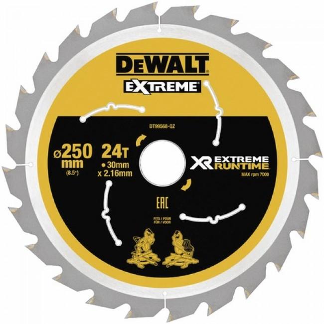 Lames de scie à onglet-diamètre 250 mm-XR Extreme Runtime DEWALT