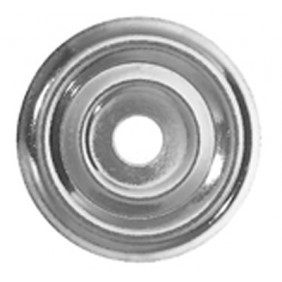 Rosaces plates - acier zingué - 100 pièces FISCHER