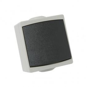 Va-et-vient étanche IP65 complet - gris - Perle DEBFLEX