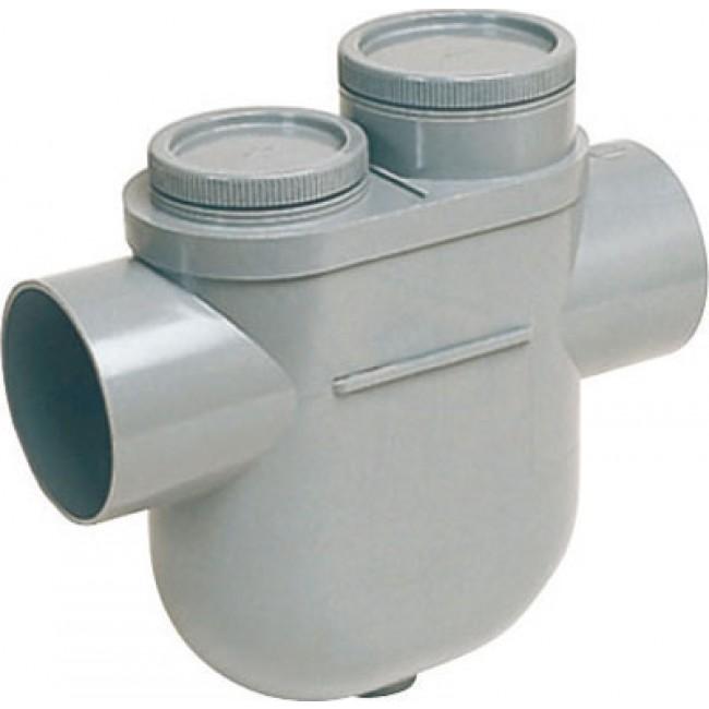 Disconnecteur pvc femelle-femelle - diamètre 100 mm NICOLL