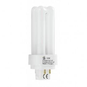 Lampe fluocompacte Biax D/E LongLast 4 broches - culot G24q GE LIGHTING