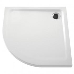 Receveur à poser extra-plat en céramique - 1/4C 90x90 cm VITRA