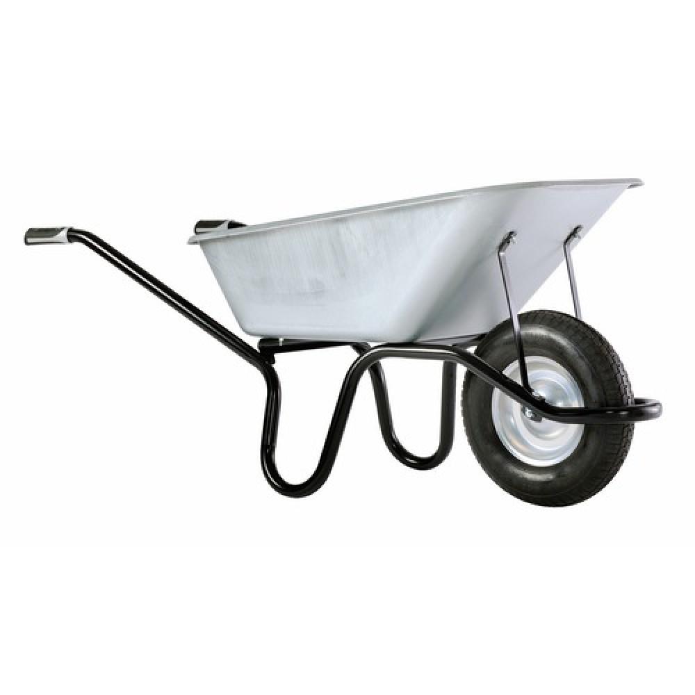 brouette de chantier roue increvable 120 litres aktiv. Black Bedroom Furniture Sets. Home Design Ideas
