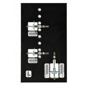 Gabarit Practica pour perçage de fixation de façade de tiroirs HETTICH