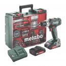 Perceuse-visseuse sans fil BS 18 L + coffret 74 accessoires METABO