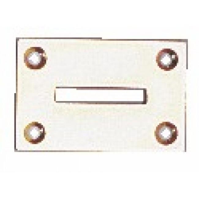 Boîte de contre-plaques pour arrêt à paillette TORBEL