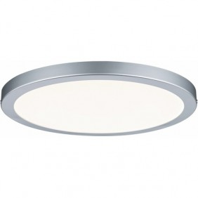 Plafonnier LED variable chromé - 24W - IP20 - Atria PAULMANN