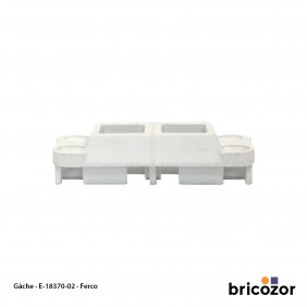 Gâche de tringle - pour menuiserie PVC -  E-18370 FERCO