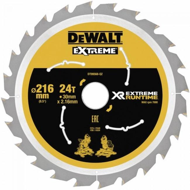 Lames de scie à onglet-diamètre 216 mm-XR Extreme Runtime DEWALT