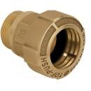 Raccord pour tube PE - à serrage extérieur - mâle - Tof Push OT EFFEBI
