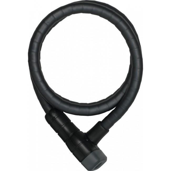 Câble spiral antivol de vélo à clé - Microflex 6615K ABUS