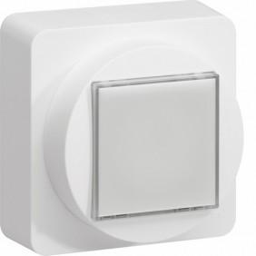 Voyant blanc de signalisation - complet - Ateha HAGER