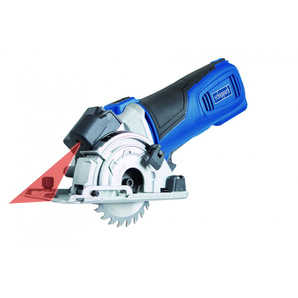 Mini scie circulaire 600 w pl285 3 rails 420 mm scheppach - Mini scie plongeante ...