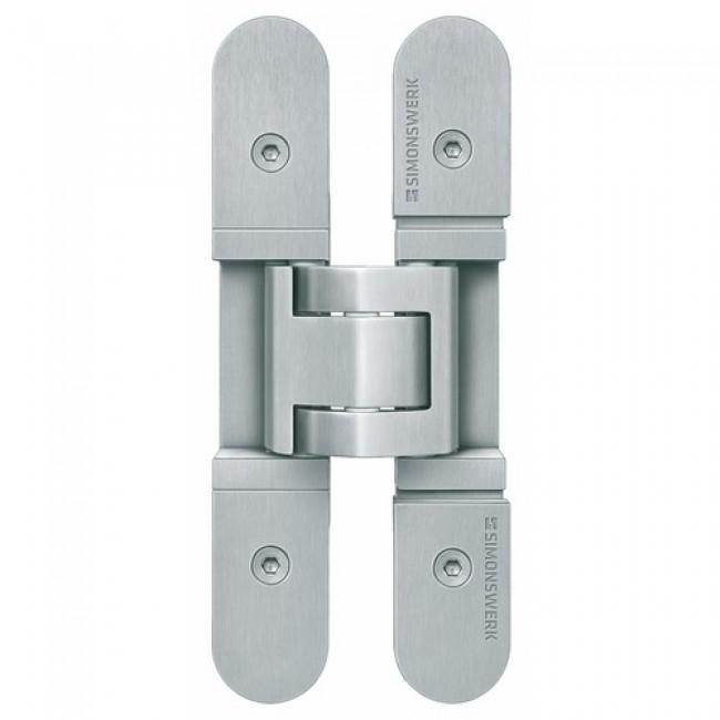 Paumelle invisible - pour portes lourdes - inox - Tectus 3D SIMONSWERK