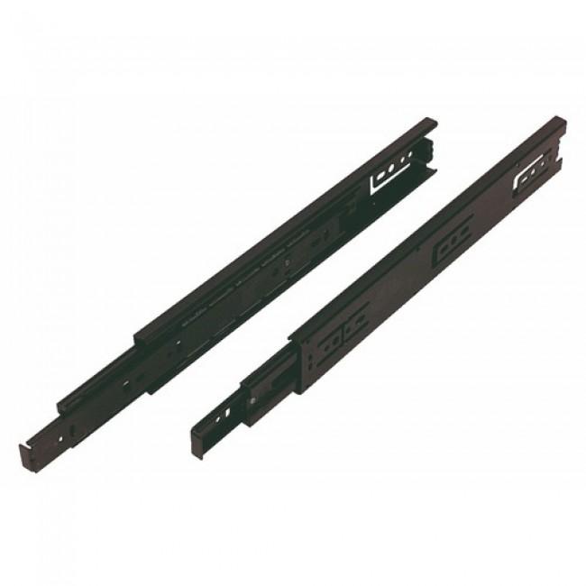 Coulisses à billes Push 3832TR- noir - charge max 45kg ACCURIDE