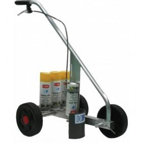 Chariot de traçage Standard Stripping Machine 3 roues CRC