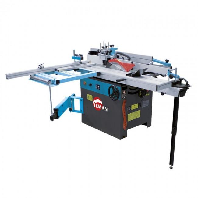 Combiné machine à bois 5 fonctions 310 mm COM310 LEMAN