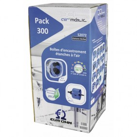 Pack - 300 boîtes d'encastrement XL Air'métic + scie cloche - RT2012 EUROHM
