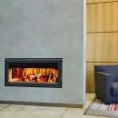 Insert bois double face C1000DF + kit de ventilation + boitier de commande TERMOFOC
