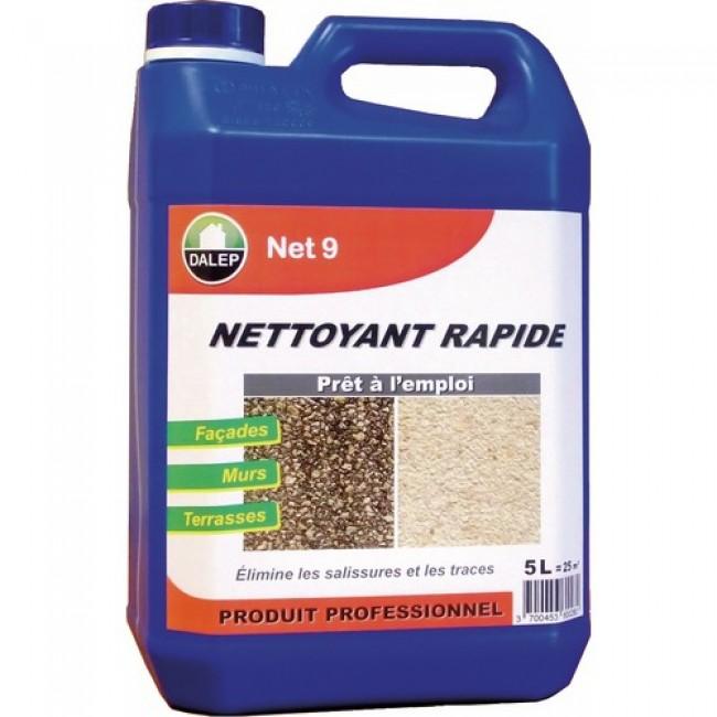 Nettoyant rapide - détergent curatif - rénovateur façade - Net 9 DALEP