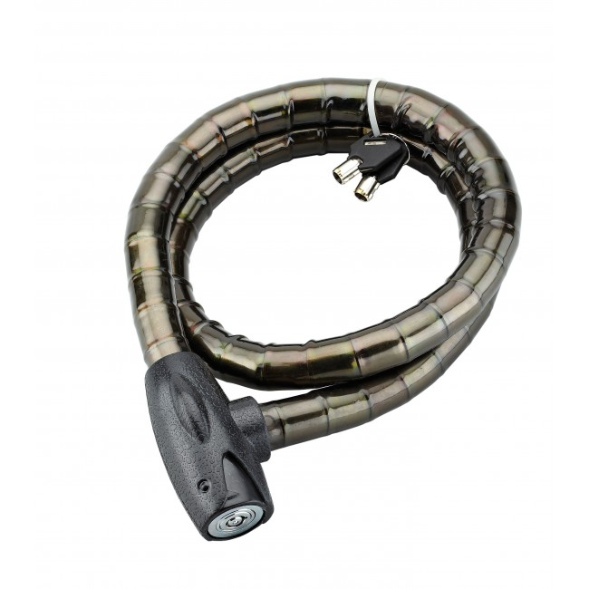 Antivol moto à câble blindé de 25 mm - gainé PVC - Scorp FTH THIRARD