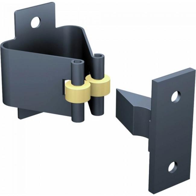 Arrêt de porte à pinces 1301TN pour porte légère BRICOZOR