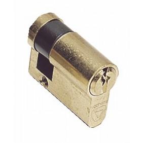 Demi cylindre - 30 x 10 - V5 5100 - organigramme - passe - laiton poli VACHETTE