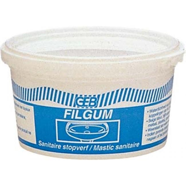 Mastic sanitaire - étanchéité joint de bonde - Filgum GEB