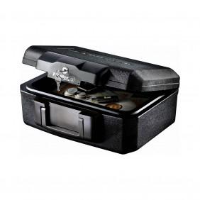 Mallette de sécurité - Anti feu - Serrure à clé - Format S - 5L MASTER LOCK