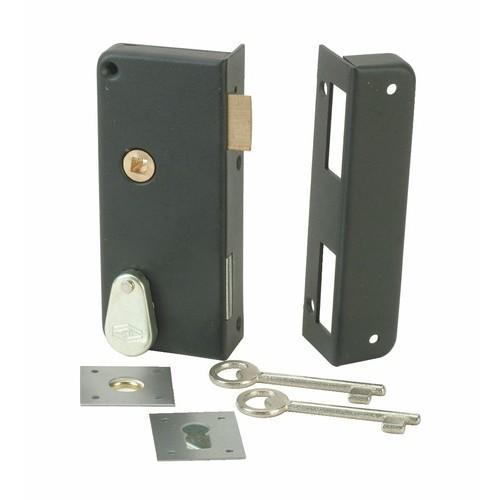 Serrure en applique verticale à gorge - extra plate - 4462