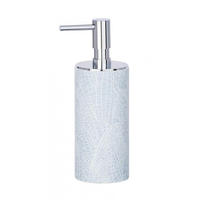 Distributeur de savon - à poser - Bleu - Contenance 140 mL WENKO