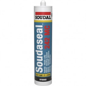 Mastic colle - polymère hybride SMX - 290 ml - Soudaseal 242 MC SOUDAL
