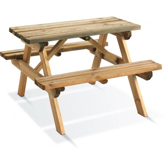 Table pique nique enfant - longueur 90 cm - Wapiti JARDIPOLYS
