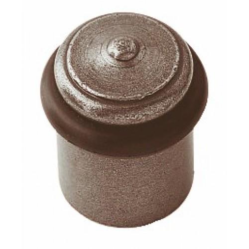 Butoir de sol rustique en fer cementé patiné