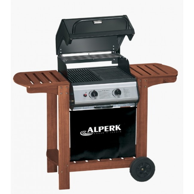 Barbecue à gaz rectangulaire 50x50 cm Sydney ALPERK