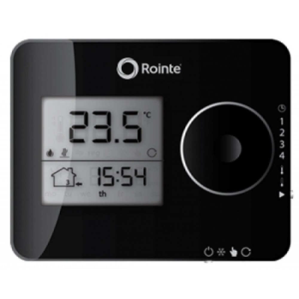 Thermostat Digital Et Programmable Easy Touch Rointe Bricozor